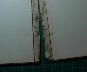 Spines Completely Worn Away